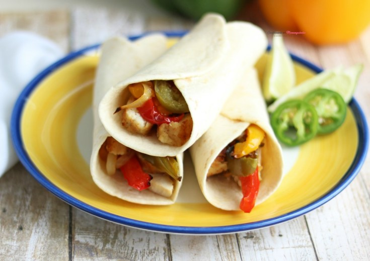 Instant Pot Tequila and Lime Chicken Fajitas Sous Vide Recipe