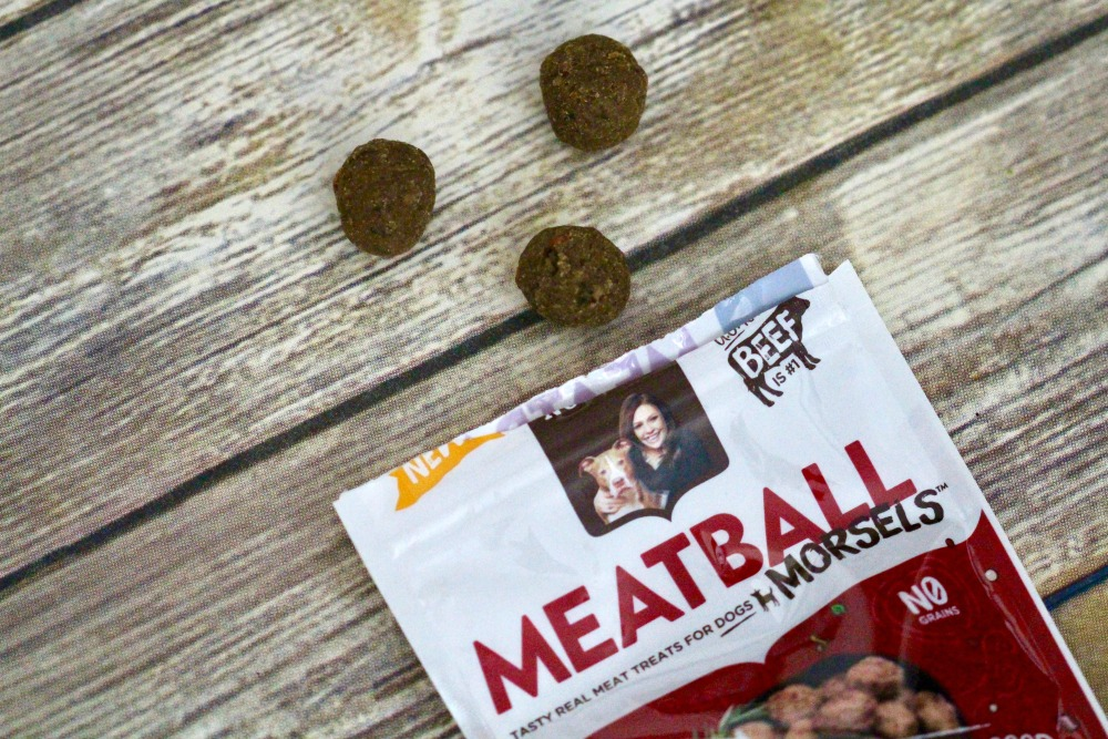 Rachael Ray Nutrish Meatball Morsels Out of Bag