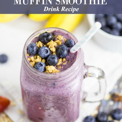 Blueberry Muffin Smoothie Recipe