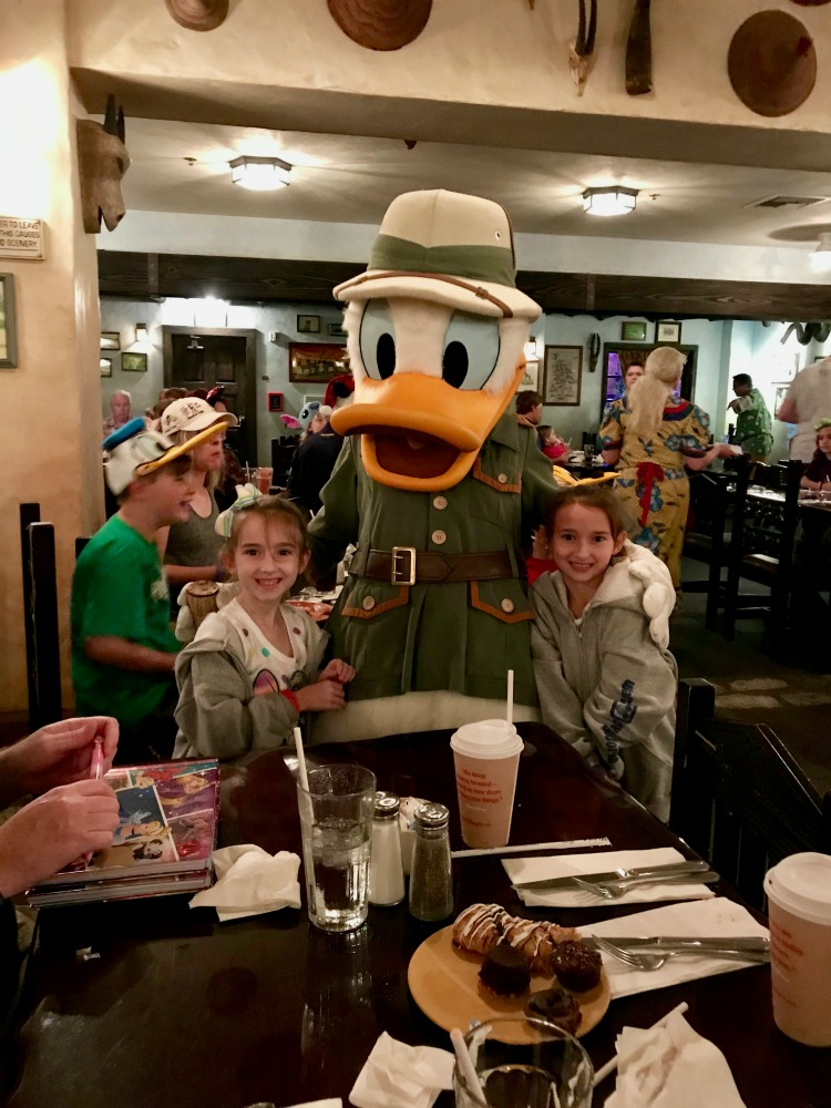 Donald Duck Tusker House Restaurant