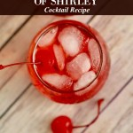 Fifty Shades of Shirley Cocktail + At Home Date Movie Night Tips
