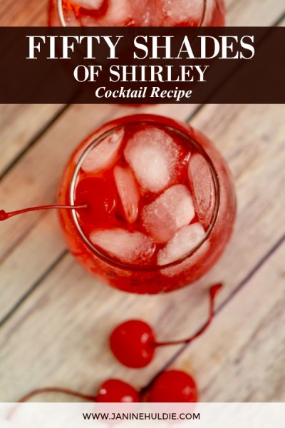 Fifty Shades of Shirley Cocktail Recipe Featured Image