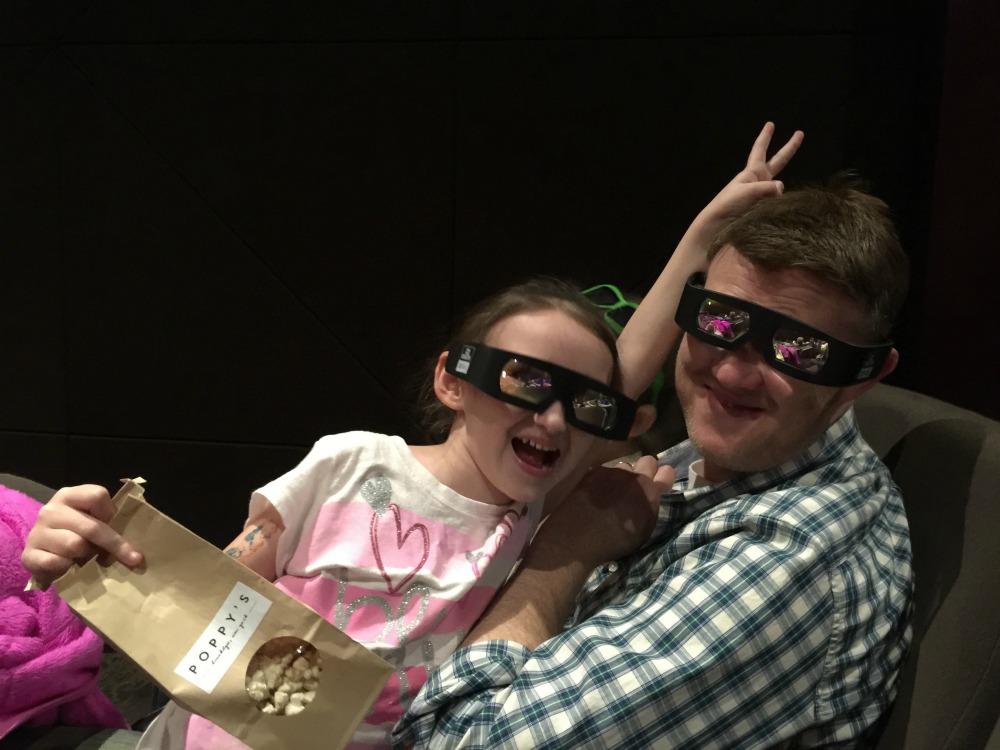 Having some 3D movie Fun