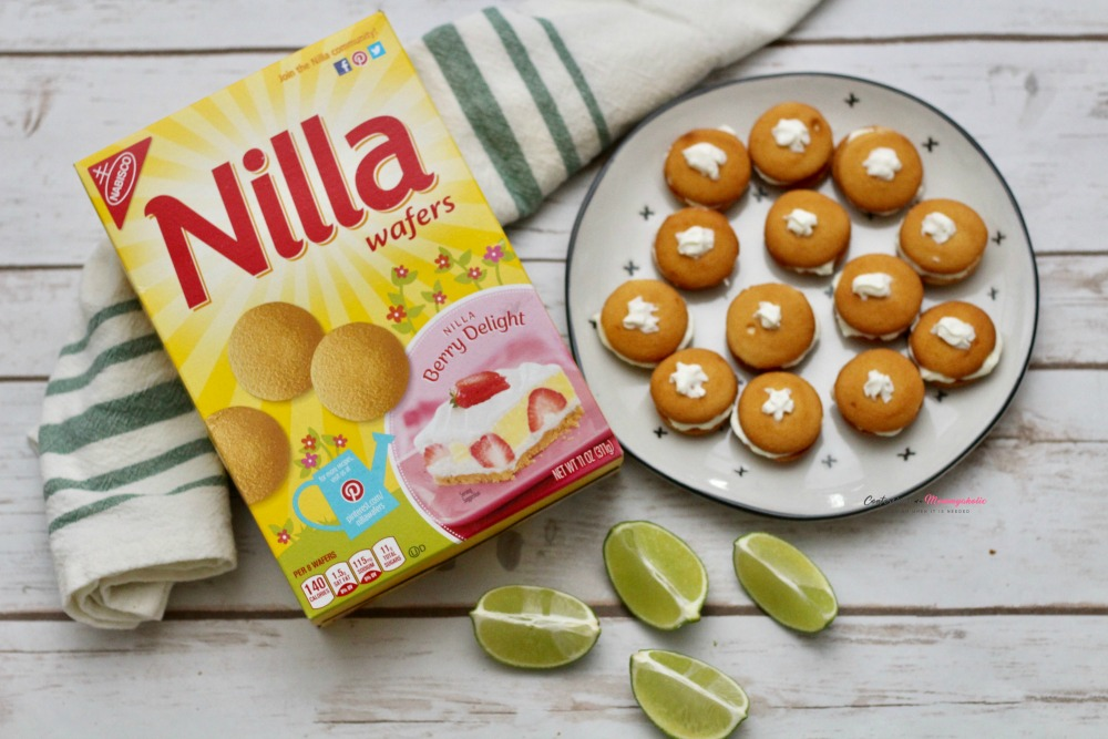 Key Lime NILLA Wafers Sandwich Cookies Horizontal 2