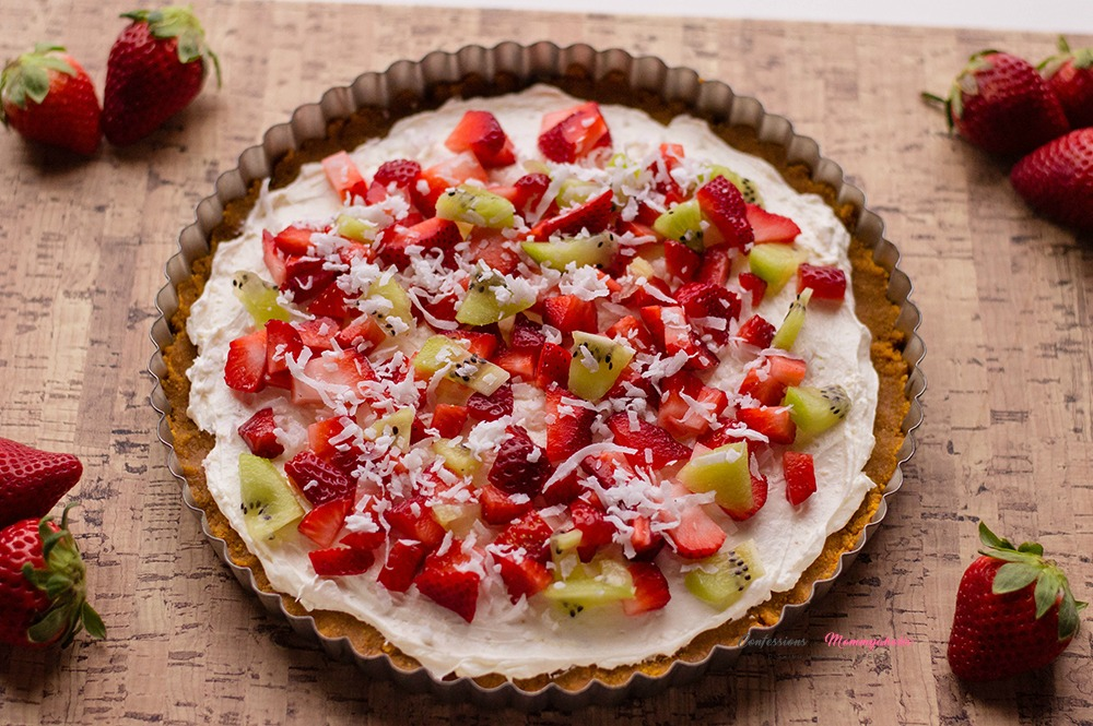 Perfect Dessert Fruit Pizza Recipe Horizontal 1