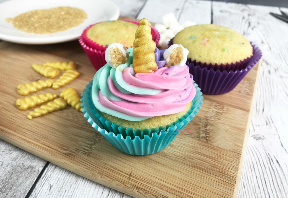 Unicorn Cupcakes Horizontal 1
