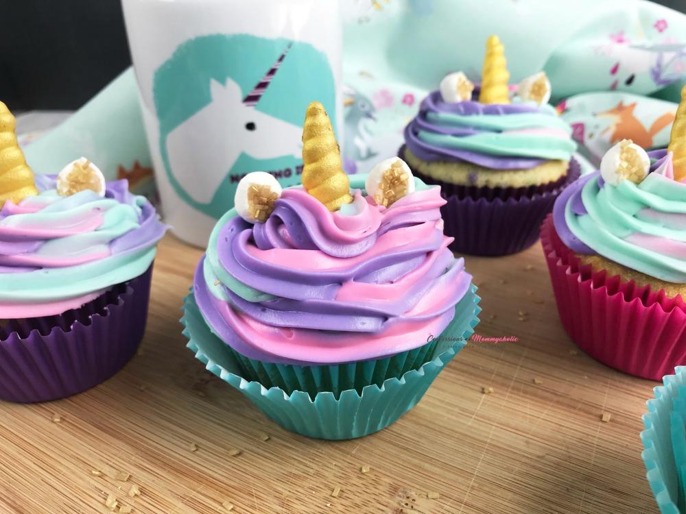 Unicorn Cupcakes, This Mom's Confessions