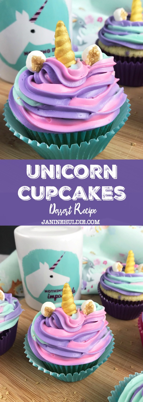 Unicorn Cupcakes Recipe