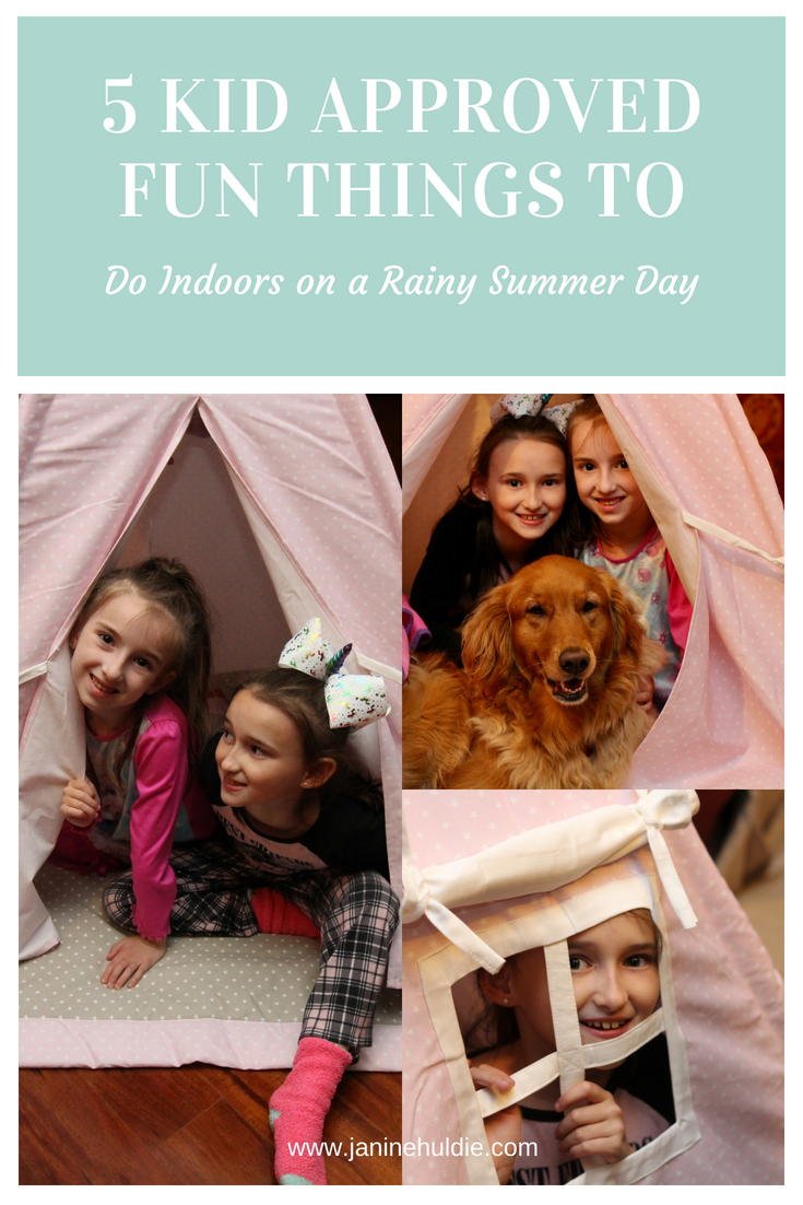 5 Kid Approved Fun Things to Do on a Rainy Summer Day