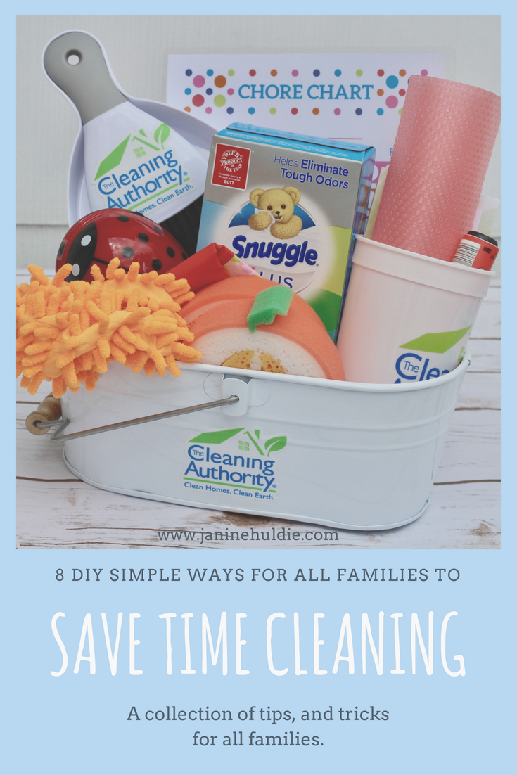 8 DIY Simple Ways for All Families to Save Time Cleaning