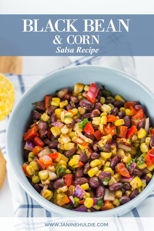 Black Bean & Corn Recipe Featured Image