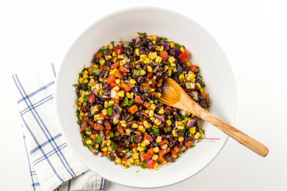 Black-Bean-and-Corn-Salsa-Recipe Mixed 2