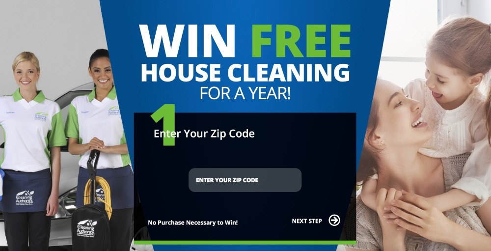 Win Free Cleaning for A Year!