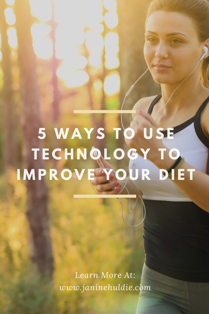 5 Ways to Use Technology to Improve Your Diet