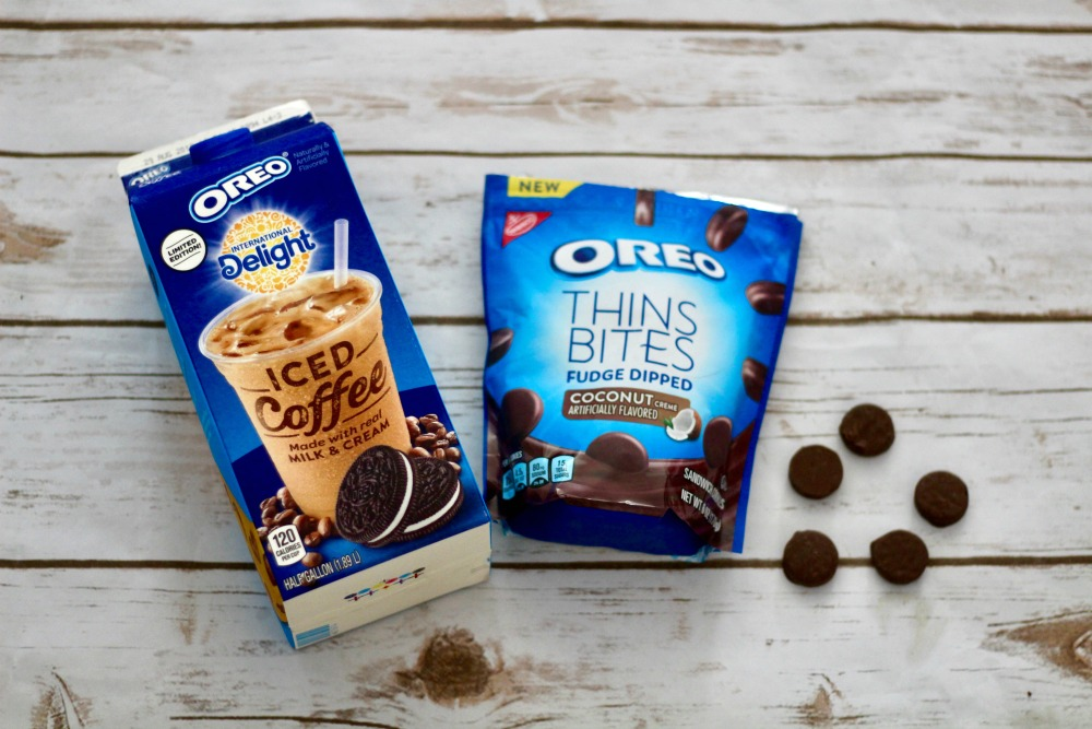 OREO Iced Coffee and Thin Bites