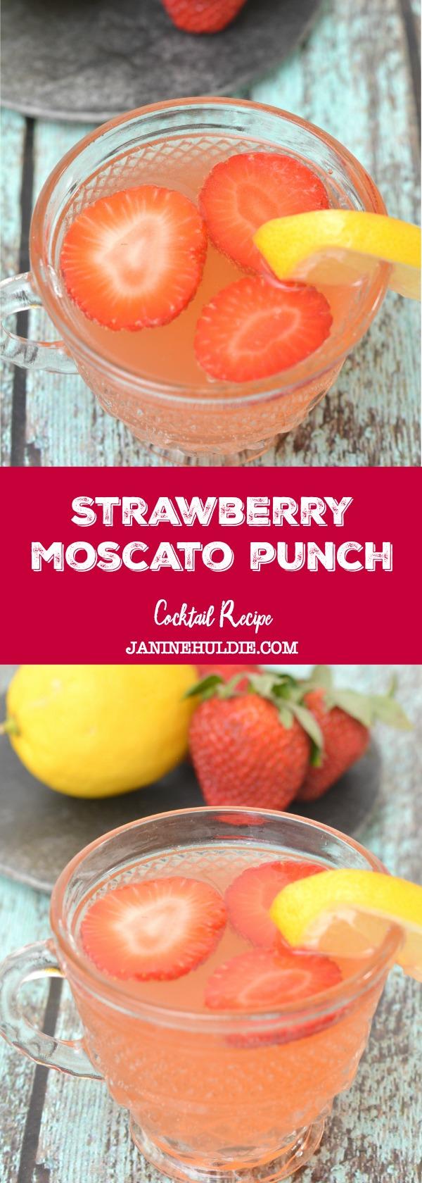 Strawberry Moscato Punch Recipe