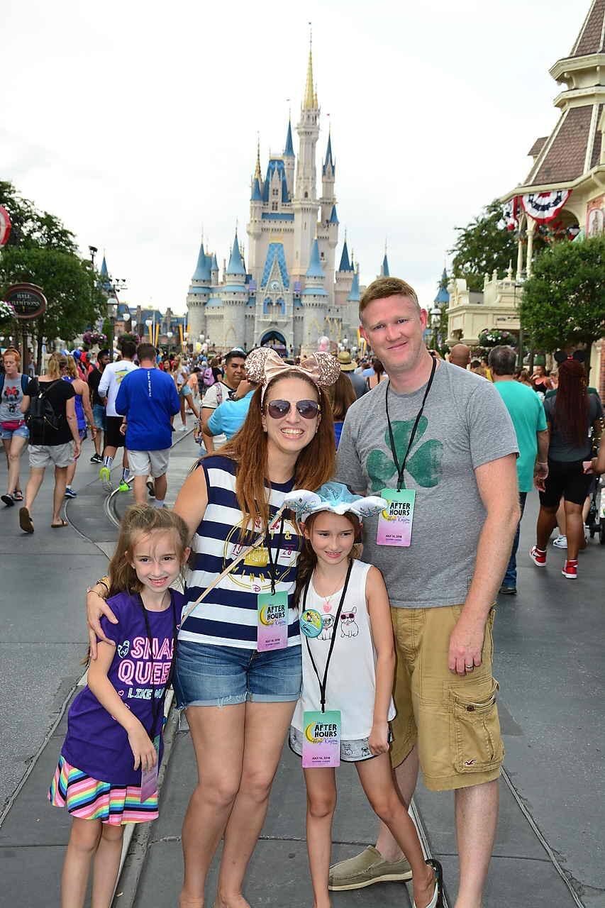 Disney World Magic Kingdom Cinderella Caste Summer 2018