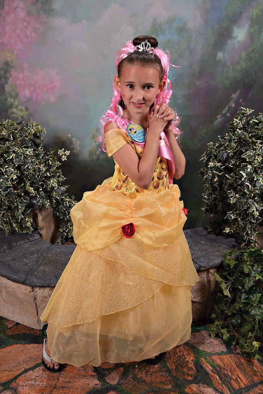 Dressed as Disney Belle