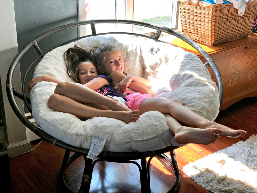 Papasan Chair Fun