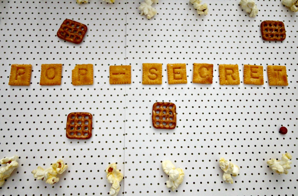 Alphabet Popcorn Snack, This Mom's Confessions