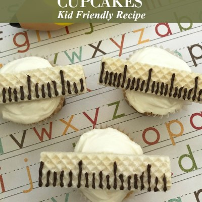 Back to School Ruler Cupcakes Recipe