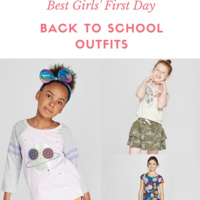 Get Winning Back to School First Day Outfits for Girls from Target