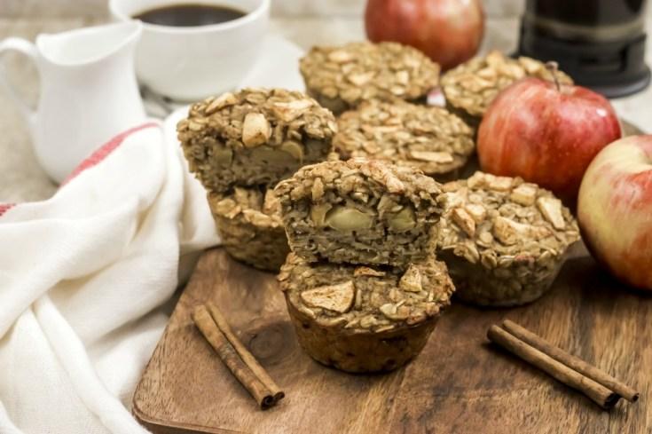 Apple Cinnamon Oatmeal Muffins Recipe