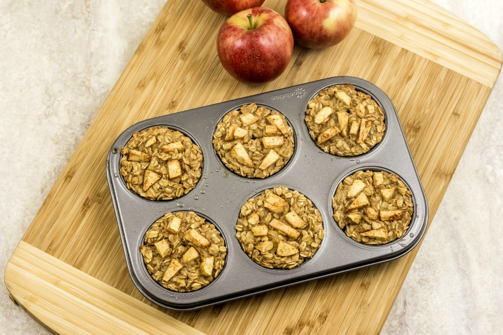 Apple Cinnamon Oatmeal Muffins, This Mom's Confessions