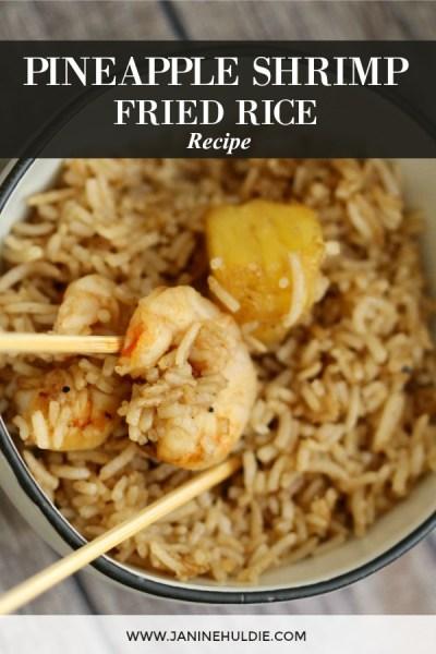 Pineapple Shrimp Fried Rice Recipe Featured Image