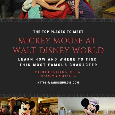 The Top Places to Meet Mickey Mouse in Walt Disney World + Mickey Leggings Giveaway