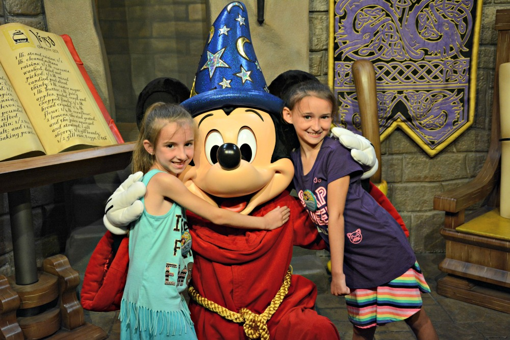 Walt Disney World Hollywood Studios Sorcerer Mickey Mouse
