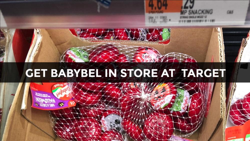 Babybel at Target In Store