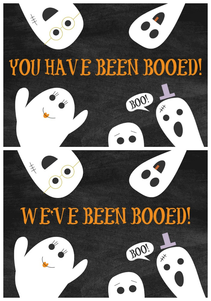 Booed Images for Printable