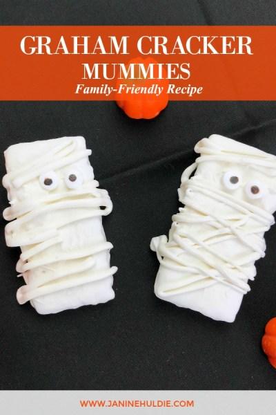 Graham Cracker Mummies Recipe Featured Image