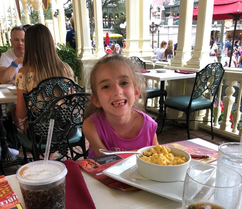 Walt Disney World Mac and Cheese at Tonys Town Square Restaurant