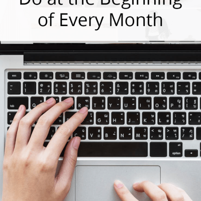 5 Tasks Top Bloggers Do at the Beginning of Every Month On The Sway