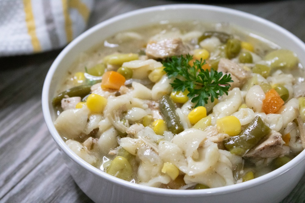 IP Turkey Vegetable Soup with Leftovers Recipe Horizontal 2