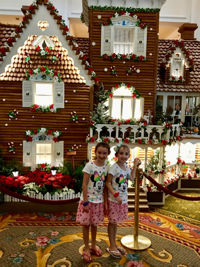 Walt Disney Worlds Grand Floridian Christmas Gingerbread House