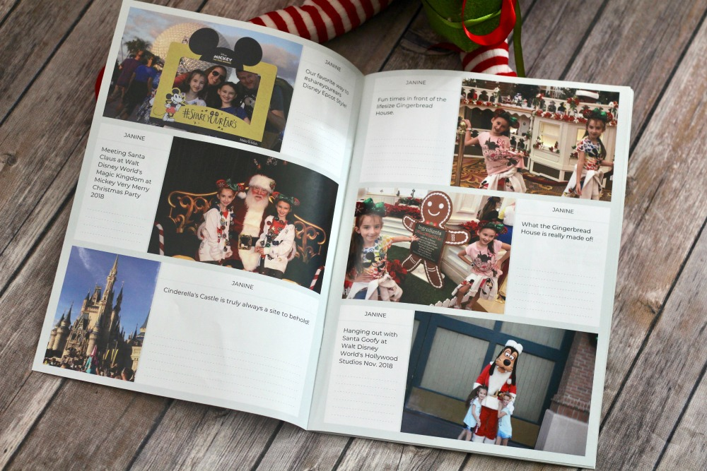 Neveo Disney Christmas 2018 Album Inside