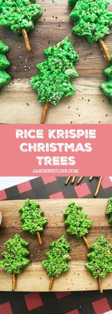 Rice Krispie Christmas Trees Recipe