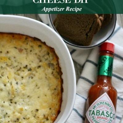 Spicy Artichoke Cheese Dip Appetizer Recipe Featured Image