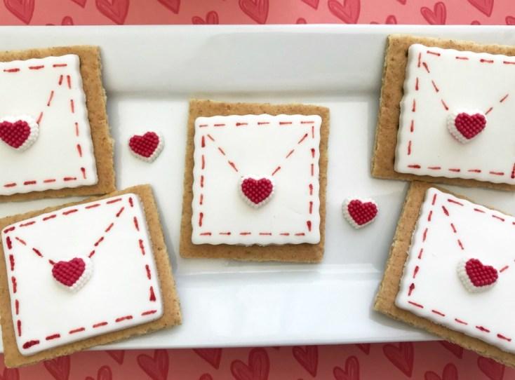 Be My Valentine Love Letter Envelope Grahams Recipe Tutorial