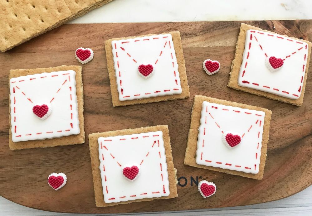 Be My Valentine Love Letter Envelope Step 6