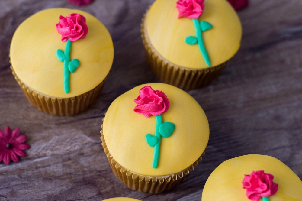 Beauty and the Beast Cupcakes Horizontal 3