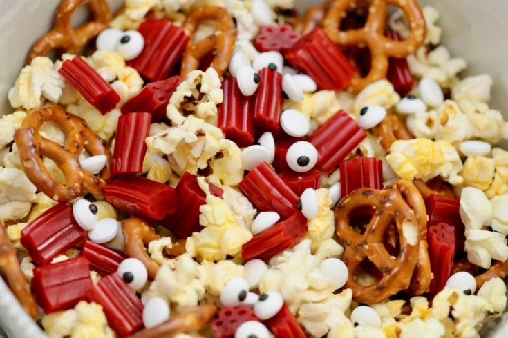 Goosebumps 2 Popcorn Snack Mix Recipe