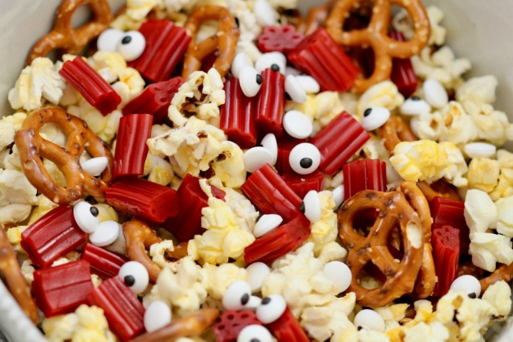 Goosebumps 2 Popcorn Snack Mix Recipe