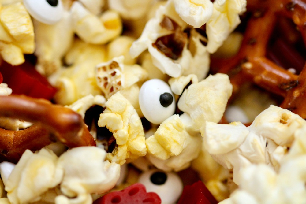 Goosebumps 2 Popcorn Mix Extreme Closeup