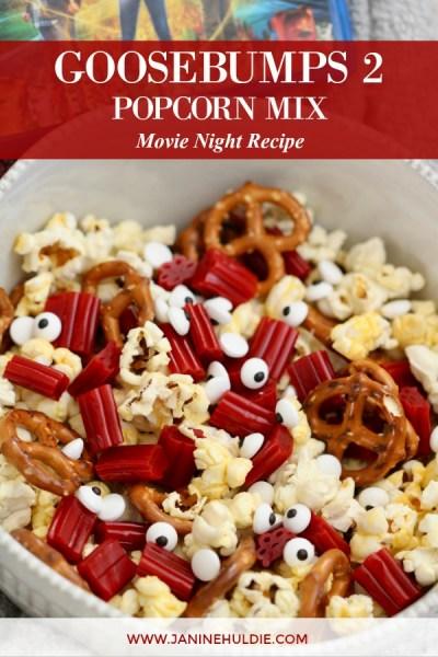 Goosebumps 2 Popcorn Mix Movie Night Recipe