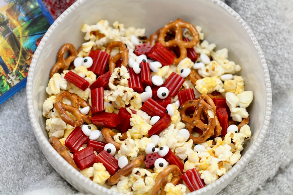 Goosebumps 2 Popcorn Mix in Bowl