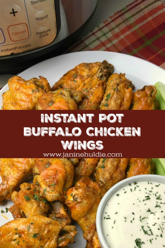 Instant Pot Buffalo Chicken Wings Recipe